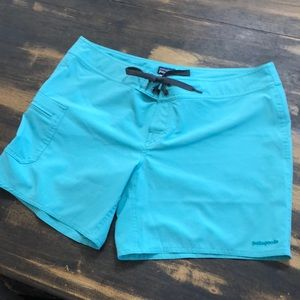 Sz 10 Patagonia board shorts like new